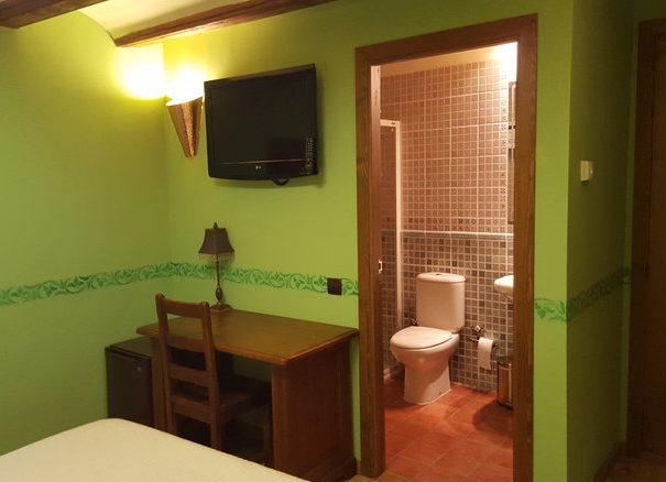 habitación verde 3
