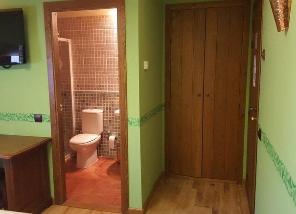 habitación verde 6